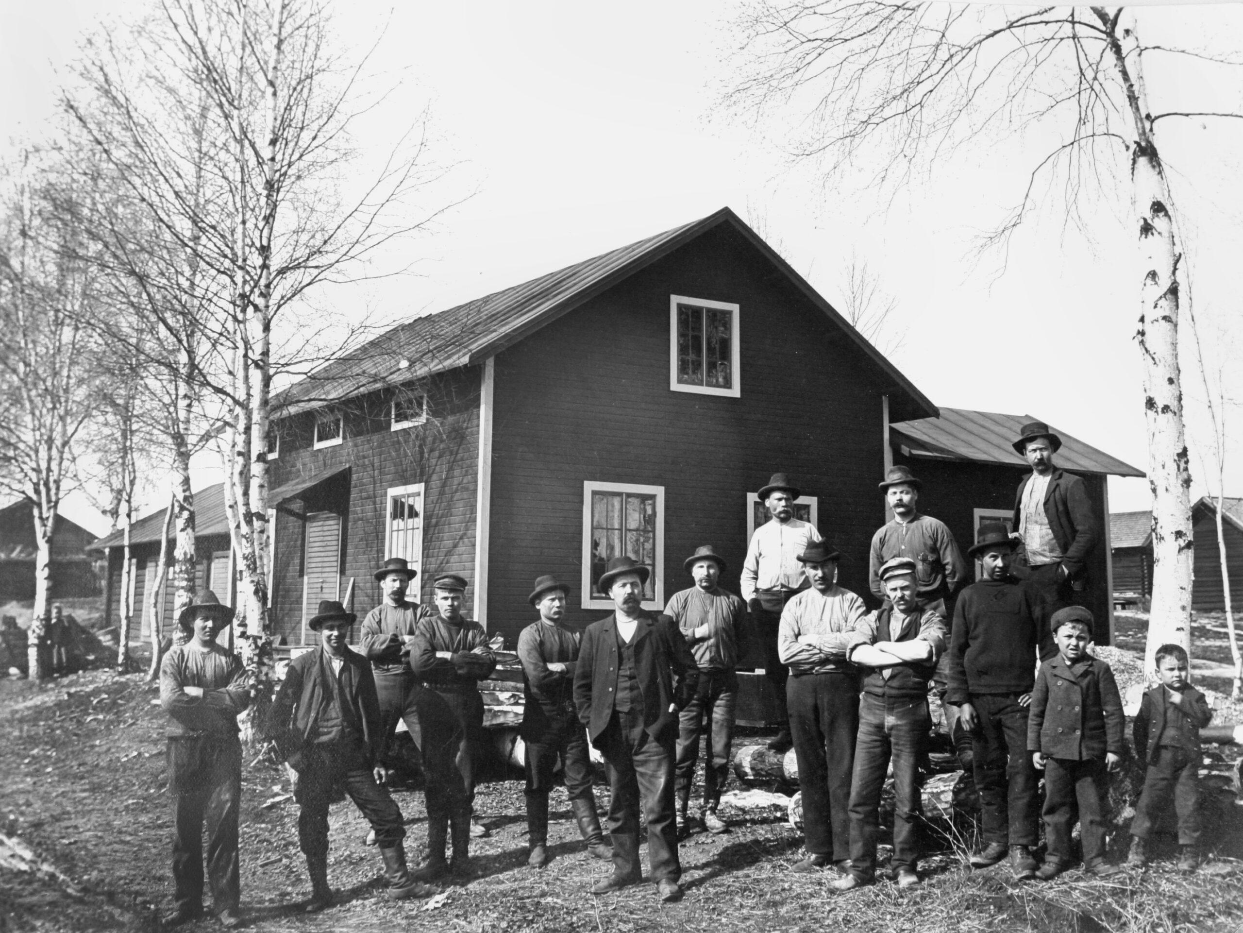 Frosts knivfabrik i 1904 bild från foto sv scaled